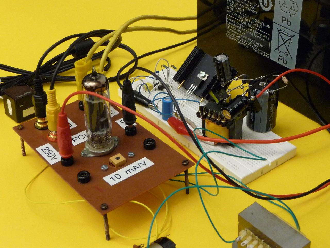 A Simple Single Ended PCL86 Stereo Audio Amplifier | www dl8nci de