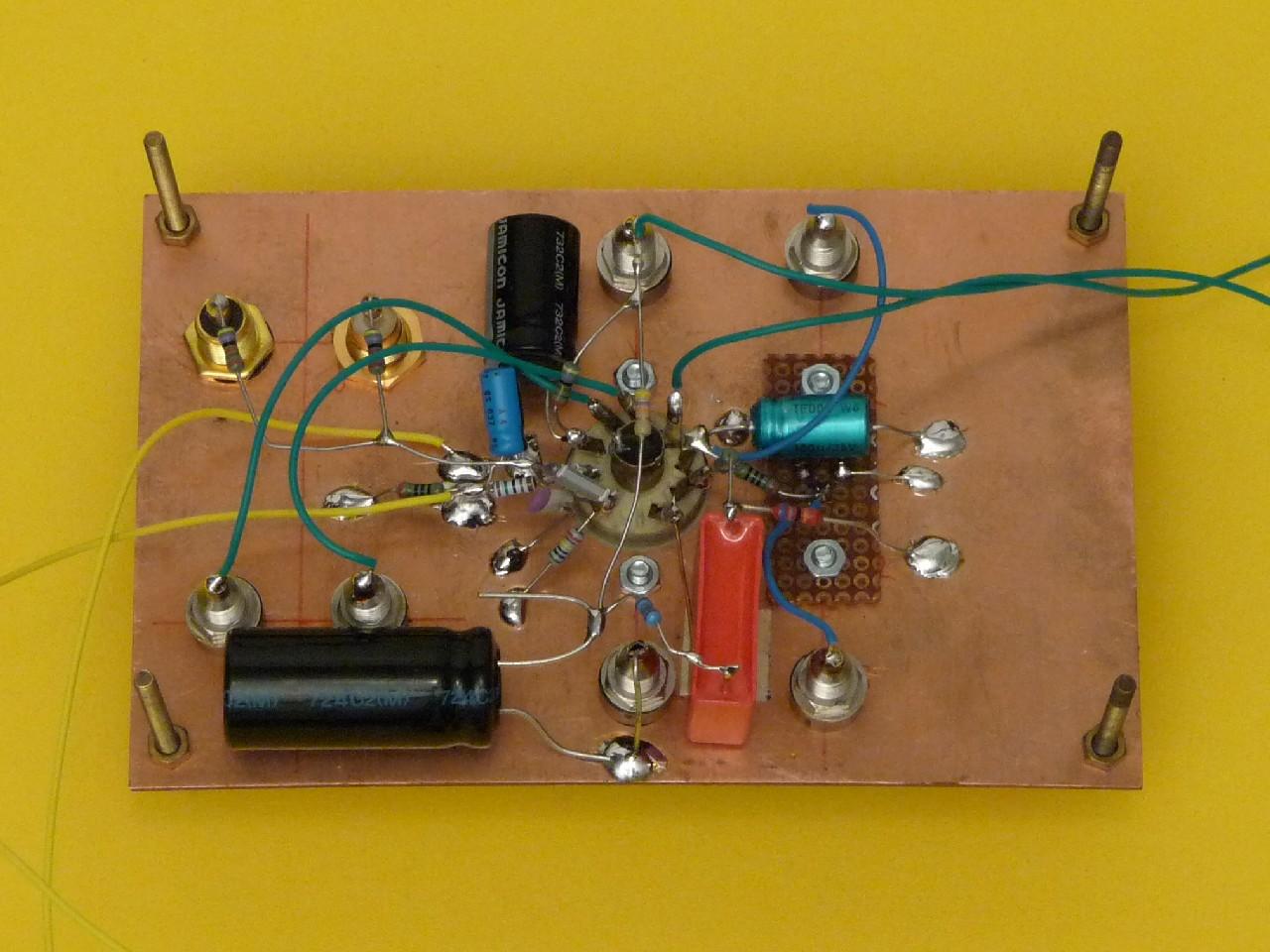 Ein einfacher Stereo Eintaktverstärker mit der Röhre PCL86 | www ...