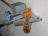 Seismische Masse, Aufhängung des horizontalen Pendelarms, Dämpfung und die Aufnehmerspule