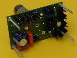 The PCB with all its components and with tube PCL86 - view on component side