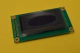 Das OLED-Display (mit Schutzfolie)